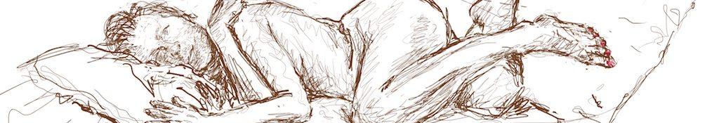 Danny Mooney 'Julienne 2, 1/5/16' iPad painting #APAD