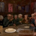 Danny Mooney 'Codgers' Curry, 31/5/16' iPad painting #‎APAD