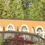 Danny Mooney 'Portmeirion, 6/7/16' iPad painting #APAD