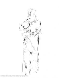 Danny Mooney 'Russel #1, 20/7/16' iPad painting #APAD