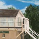 Danny Mooney 'Rye signal box, 24/6/16' iPad painting #APAD