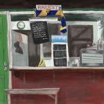 Danny Mooney 'Harriets #1, 25.11.16' iPad painting #APAD