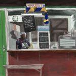 Danny Mooney 'Harriet's #2, 25.11.16' iPad painting #APAD