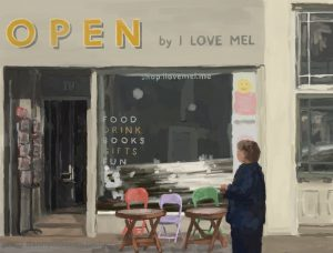 Danny Mooney, 'I Love Mel, 19/11/16' iPad painting #APAD