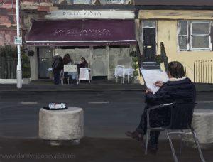 Danny Mooney 'La Bella Vista, 12/11/16' iPad painting #APAD