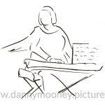Danny Mooney 'Liane Carol, 10/11/16' iPad painting #APAD