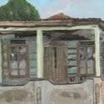 Danny Mooney 'Old house, 25.11.16' iPad painting #APAD
