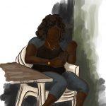 Danny Mooney 'Shanny Bae, 22.11.16' iPad painting #APAD