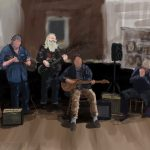 Danny Mooney 'The Other Band, 5/11/16' iPad painting #APAD