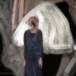 Danny Mooney 'The distance between us, 5/11/16' iPad painting #APAD