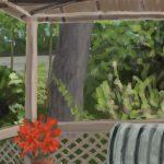 Danny Mooney 'Veranda, 20.11.16' iPad painting #APAD