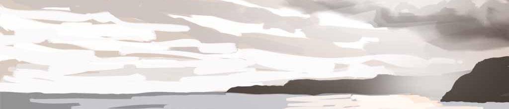Danny Mooney 'South bay, 14:12:17', iPad painting #APAD