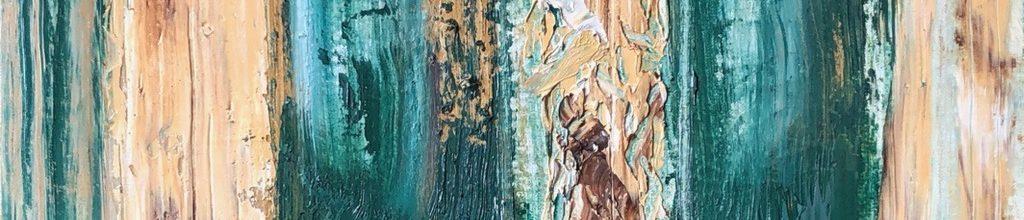 Danny Mooney 'Bathroom Triptic, 6:4:19', Oil on Canas